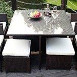 Merax-9-Pc-Modern-IndoorOutdoor-All-Weather-PE-Wicker-Rattan-Table-Patio-Set-Gardern-Furniture-Dining-Sets-0
