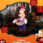 Mickey-Mouse-Thanksgiving-Inflatable-38-Foot-Scarecrow-Airblown-Yard-Decoration-0