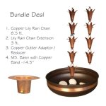 Monarch-Pure-Copper-Lily-Rain-Chain-Bundle-Deal-0