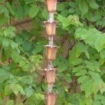 Monarchs-Pure-Copper-Tulip-Cup-Rain-Chain-8-12-Feet-Length-0-1