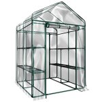 Plant-Large-Walk-in-Greenhouse-with-Clear-Cover-12-Shelves-Stands-3-Tiers-Racks-Herb-and-Flower-Garden-Green-House-0