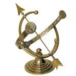 Rome-RM1334-Polished-Brass-12-Inch-Diameter-Armillary-Sundial-0
