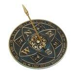Rome-RM2304-Brass-Rosette-Sundial-0