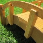 SamsGazebos-Miniature-Japanese-Waterproofed-Wood-Garden-Bridge-25-Inch-Tan-0-0