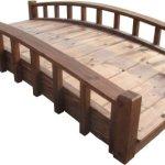 SamsGazebos-Moon-Bridges-Japanese-Style-Arched-Wood-Garden-Bridges-6-Feet-Brown-0