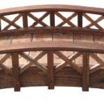 SamsGazebos-Swan-Wood-Garden-Bridge-with-Cross-Halved-Lattice-Railings-4-Feet-Brown-0-1