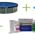Swimline-18-Round-Pool-Cover-4×4-Closing-Pillow-Winterizing-Kit-0