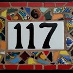 Tile-Mosaic-House-Number-Plaque-Address-or-Name-Sign-Custom-Hand-Made-0-0
