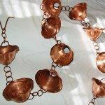 U-nitt-8-12-feet-Pure-Copper-Rain-Chain-flared-bowl-cup-85-ft-length-7865513-0-0