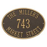 Whitehall-Hawthorne-Oval-Standard-Address-Plaque-3-Lines-0
