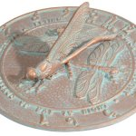 Whitehall-Products-Dragonfly-Sundial-Copper-Verdi-0