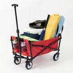 YSC-Wagon-Garden-Folding-Utility-Shopping-CartBeach-Red-0