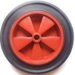 12-SLIM-wheelbarrow-solid-wheel-RED-replacement-for-14pneumatic-NO-MORE-PUNCTURES-MADE-IN-UK-by-Keto-Plastics-0