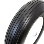 16-Solid-rubber-tire-flat-free-58-axle-x-for-cart-wagon-wheelbarrow-formed-ribbed-tread-tyre-replacement-wheel-new-128-0-0