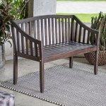 4-Foot-Dark-Brown-Finish-Eucalyptus-Wood-Curved-Back-Garden-Bench-Park-Bench-Outdoor-Patio-Furniture-0
