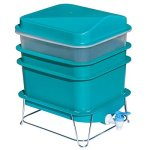 4-Tray-Worm-Factory-Farm-Compost-Small-Compact-Bin-Set-0