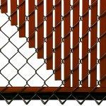 4ft-Redwood-Tube-Slats-for-Chain-Link-Fence-0-2
