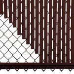 5ft-Brown-Tube-Slats-for-Chain-Link-Fence-0-2