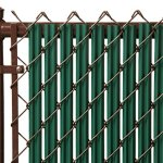 8ft-Green-Ridged-Slats-for-Chain-Link-Fence-0