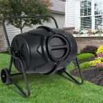 AK-Energy-50-Gallon-Wheeled-Compost-Tumbler-Garden-Waste-Bin-Grass-Trash-Barrel-Fertilizer-Mobility-0-0
