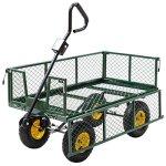 AK-Energy-800Lbs-Capacity-Heavy-Duty-Outdoor-Utility-Garden-Farm-Cart-Wagon-Flatbed-Steel-Trailer-wLiner-0-2