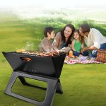 AK-Energy-Outdoor-Portable-BBQ-Grill-Smokeless-Charcoal-Folding-Garden-Party-Camping-Tool-Triangle-Support-Leg-0-0