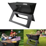 AK-Energy-Outdoor-Portable-BBQ-Grill-Smokeless-Charcoal-Folding-Garden-Party-Camping-Tool-Triangle-Support-Leg-0-1