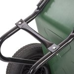 BMS-Flat-Free-Yard-Garden-Rover-Wheelbarrow-2-Tire-Wheelbarrow-Garden-Cart-BestMassage-0-1