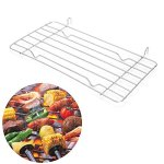 BOying-Charcoal-Barbecue-Grill-Grid-Replace-Steaming-BBQ-Metal-Grid-Rack-2613cm-0-0