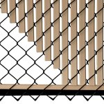 Beige-Double-Wall-Bottom-Lock-Fence-Slat-for-4ft-Chain-Link-0-2