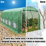 BenefitUSA-Outdoor-Garden-Green-House-Walk-in-Greenhouse-Canopy-Gazebo-246X10X7-Green-0