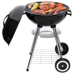 Best-Choice-Products-18in-Portable-Steel-Charcoal-Barbecue-BBQ-Grill-for-Patio-Picnic-Tailgate-wHeat-Control-Black-0