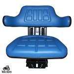 Blue-FordNew-Holland-6000-6600-6610-7000-7100-7200-7600-7610-7700-TRAC-Brand-Waffle-Style-Universal-Tractor-Suspension-SEAT-0-1