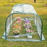 COMLZD-7x3x3-Greenhouse-Mini-Portable-Gardening-Flower-Plants-Yard-Hot-House-Tunnel-0-2