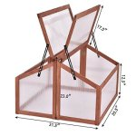 COSTWAY-Greenhouses-Wooden-Double-Box-Garden-Cold-Frame-Raised-Plants-Bed-Protection-Only-by-eight24hours-Organic-Natural-Silk-Cocoons-0-0