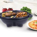 COSTWAY-VD-42178KC-CHEFJOY-1350W-IndoorOutdoor-Electric-BBQ-Grill-Black-0-2