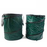 Cherlvy-Household-Storage-BagBasket-of-Environment-Friendly-Garbage-Bag-Leaves-Collection-BucketReusableFoldable-Straw-Garbage-Bag-0