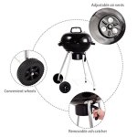 Custpromo-185-Portable-Charcoal-Grill-BBQ-Cooking-Kettle-with-Wheels-for-Backyard-Tailgate-Party-Camping-0-1