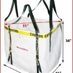 Debris-Bag-Made-in-the-USA-Reusable-Polypropylene-Construction-with-2-Nylon-Webbing-and-Steel-bucklesGreat-for-use-in-the-Roofing-Construction-and-Gardening-Industry-0-0