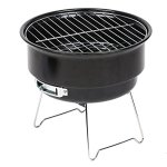 Deerbird-Compact-Charcoal-Barbecue-Grill-Cute-Round-Lightweight-Barbecue-Tool-Portable-Enamel-BBQ-Grill-Perfect-for-Camping-or-Outdoor-Cooking-Small-0