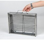 Deerbird-Folding-Barbecue-Grill-Portable-Thickened-Outdoor-Stainless-Steel-Charcoal-Picnic-BBQ-Grill-for-Family-Camping-Party-Small-0-2