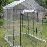 Deluxe-6-tier-Walk-In-Portable-Greenhouse-with-12-Shelves-and-Clear-PVC-Cover-0