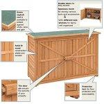 Double-Doors-Fir-Wooden-Garden-Yard-Shed-Lockers-Outdoor-Cabinet-Unit-For-Storage-0-2