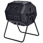 FDInspiration-Black-42-Gallon-PP-Fertilizer-Compost-Tumbler-Garden-Waste-Bin-wAdjustable-Air-Vents-Ebook-0-0
