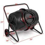 FDInspiration-Black-PP-50-Gallon-Garden-Waste-Bin-Fertilizer-Compost-Tumbler-wWheeled-Ebook-0-1