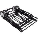Festnight-Black-Foldable-Garden-Trolley-0-1