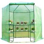 Festnight-Patio-Hexagonal-3-Tier-Shelf-Walk-in-Portable-Garden-Greenhouse-75-0-0