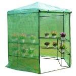 Festnight-Patio-Hexagonal-3-Tier-Shelf-Walk-in-Portable-Garden-Greenhouse-75-0