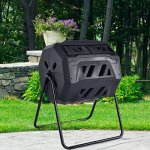 Goplus-Compost-Tumbler-Outdoor-Garden-Waste-Bin-43-Gallon-Capacity-Grass-Food-Trash-Fertilizer-Barrel-Black-0