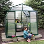 Grandio-Elite-8×8-Greenhouse-Kit-10mm-Twin-Wall-Polycarbonate-0